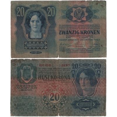 20 Kronen 1913
