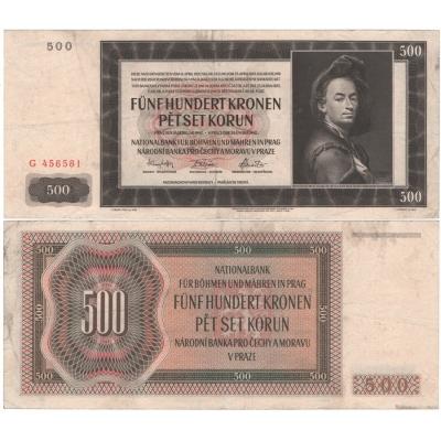 500 Kronen 1942 G