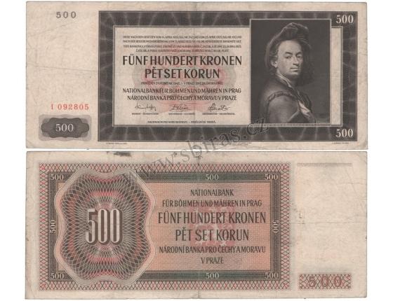 500 Kronen 1942 I
