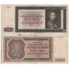 500 korun 1942, I. vydání, série I, neperforovaná