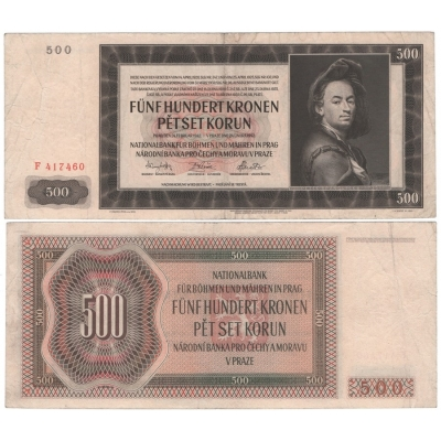500 Crown 1942 F