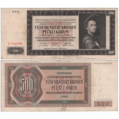 500 Kronen 1942 E
