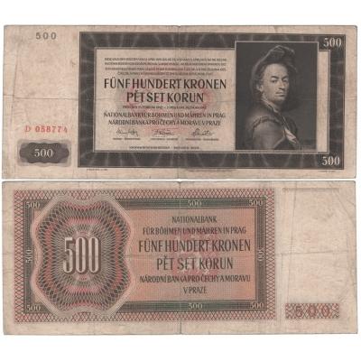 500 Kronen 1942 D