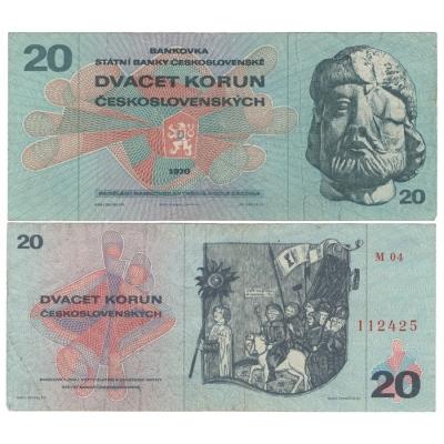 20 korun 1970, série M
