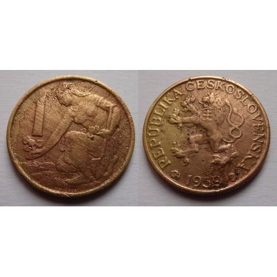 Czechoslovakia - Coin 1 Crown 1959