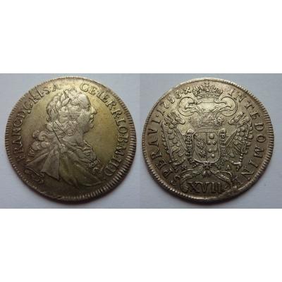 XVII krejcar 1753