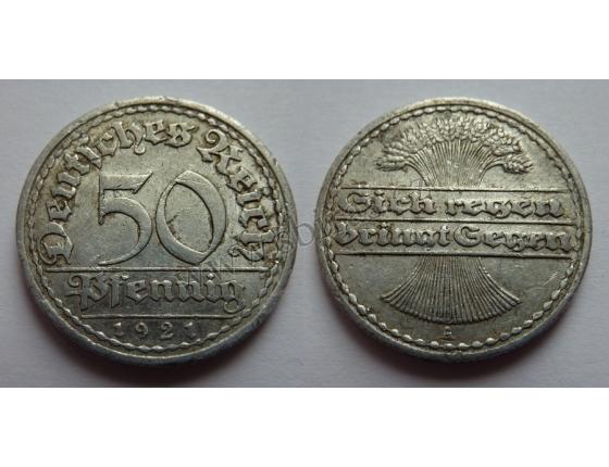 50 Pfennig 1921 A