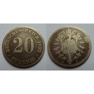 Německé císařství - 20 Pfennig 1873 C