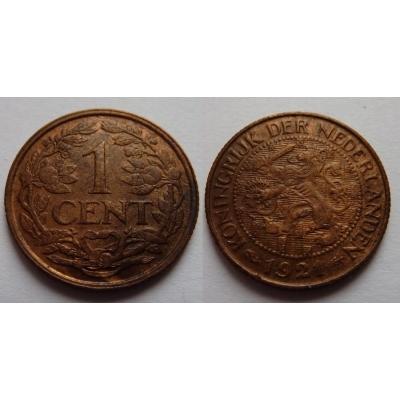Holandsko - 1 cent 1921