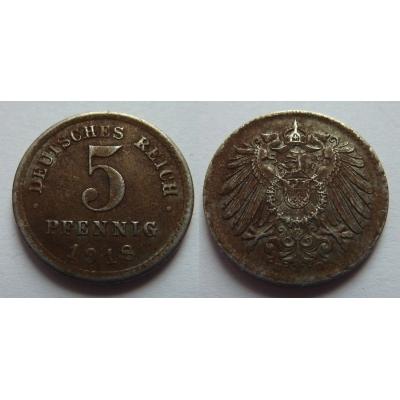 5 Pfennig 1918 E