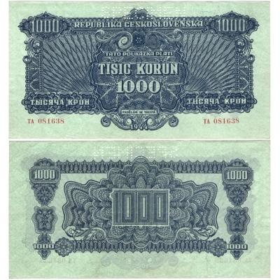 1000 korun 1944