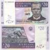 Malawi - bankovka 20 kwacha 2009 UNC