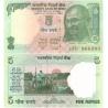 Indie - bankovka 5 rupee 2011 UNC