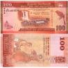 Srí Lanka - bankovka 100 rupees 2015 aUNC