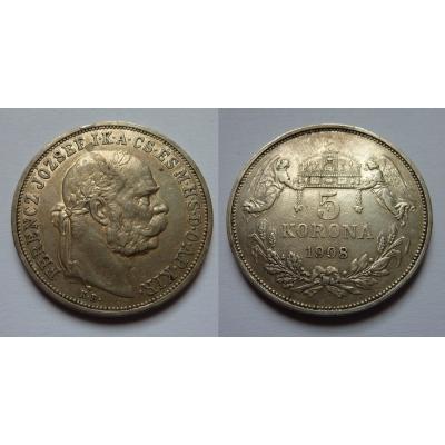 5 korun 1908 KB