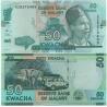 Malawi - bankovka 50 kwacha 2015 UNC