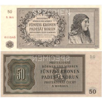 50 korun 1944 UNC