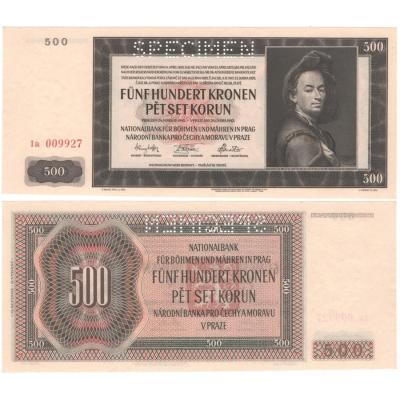 500 Kronen 1942