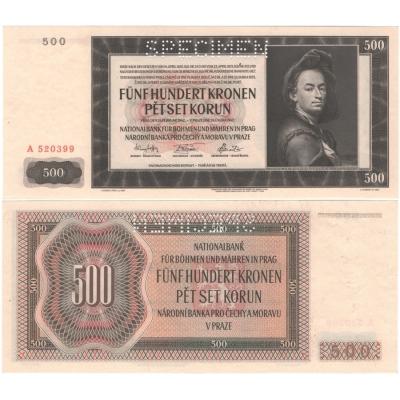 500 Kronen 1942 A