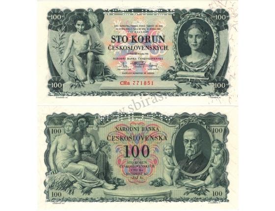 100 korun 1931, třípísmenná série