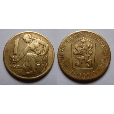 1 koruna 1985