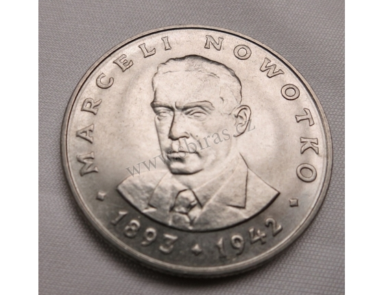 Polsko - 20 zlotych 1976, Marceli Nowotko
