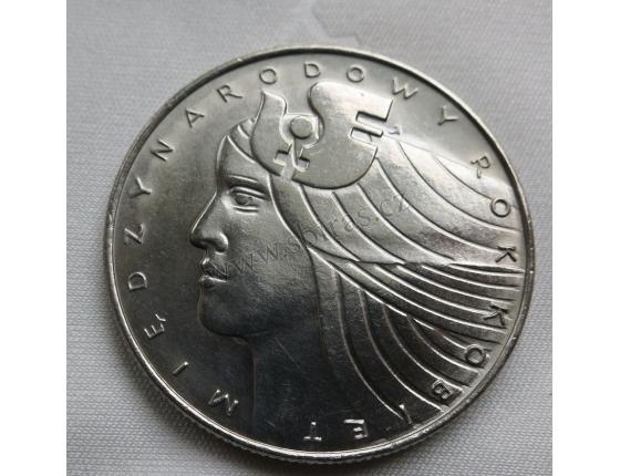 Polsko - 20 złotych 1975 - Mezinárodní rok žen