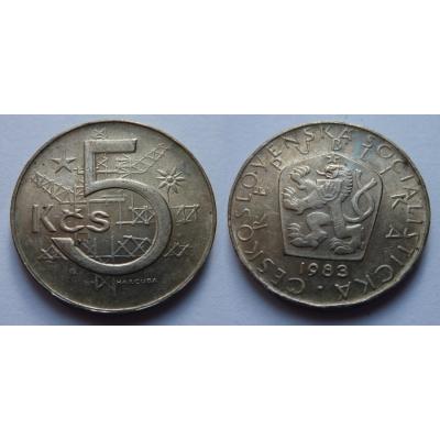 5 korun 1983