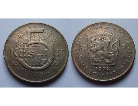 5 Crown 1974