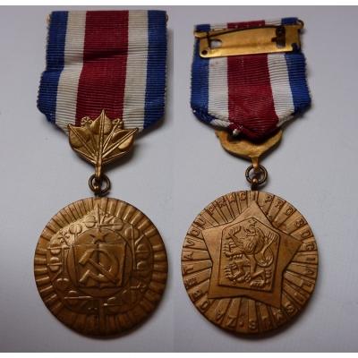 Medaile za obětavou práci pro socialismus