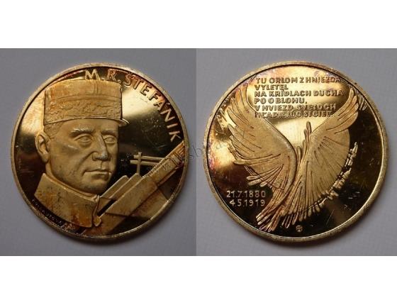 M.R. Štefánik - pamětní medaile