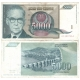 Jugoslávie - bankovka 5000 dinara 1992