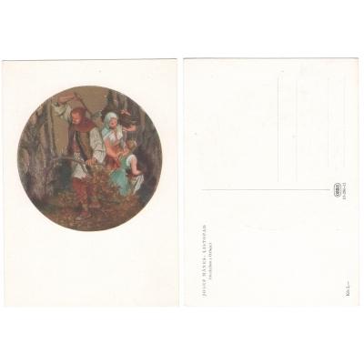 Pohlednice Josef Mánes - Listopad (orloj)