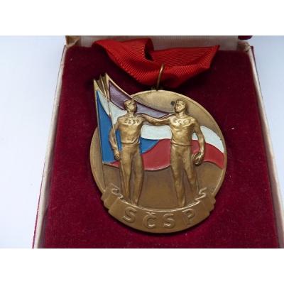 Medaile svazu Československo-sovětského přátelství