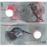 Maledivy - bankovka 5 rufiya 2017 UNC - polymerová bankovka