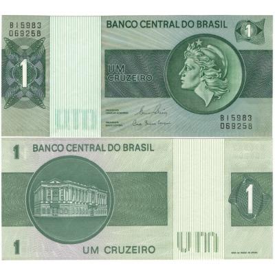 Brazílie - bankovka 1 cruzeiros 1970 UNC