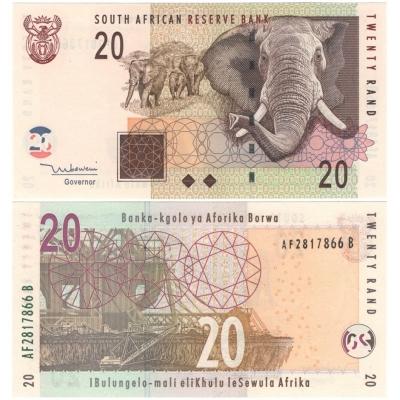 Jihoafrická republika - bankovka 20 rand 2009 UNC