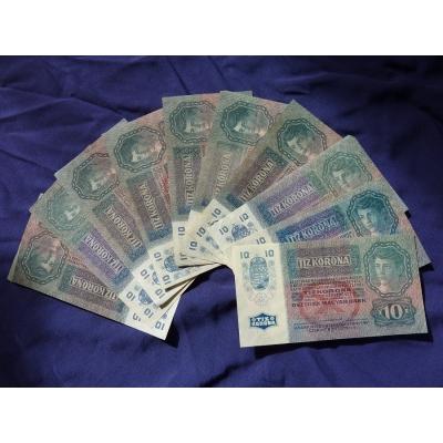 10 korun 1915 - 10 kusů