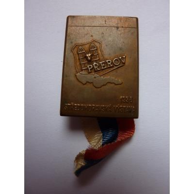 Tschechoslowakei - Abzeichen Prerov, Zentral-Mährischen Ausstellung 1936