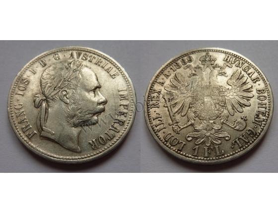 1 florin/zlatník 1889