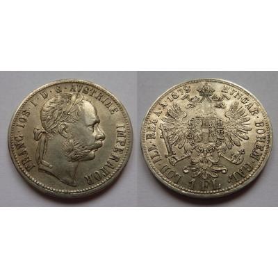 1 florin/zlatník 1879