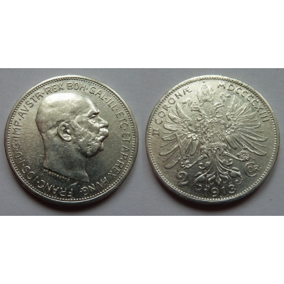 2 koruny 1913