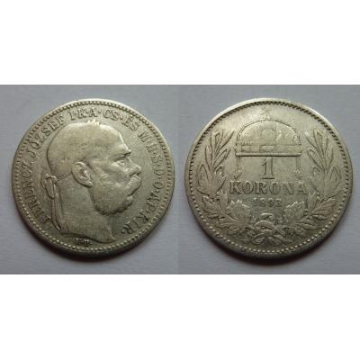 1 Corona 1893 K.B.