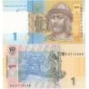 Ukrajina - bankovka 1 hřivna 2011 UNC