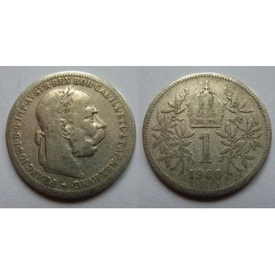 1 Krone 1900