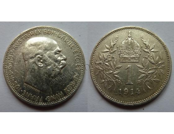 1 Krone 1914