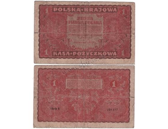 Polsko - bankovka 1 marka 1919