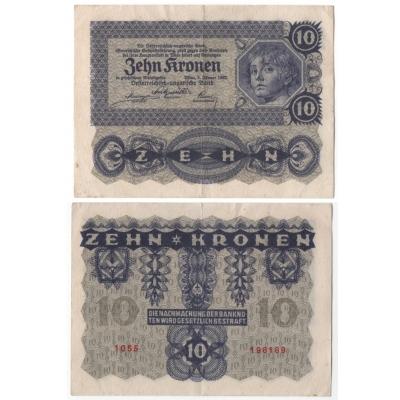 10 Crown 1922
