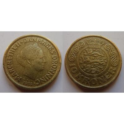 Dánsko - mince 10 korun 1989