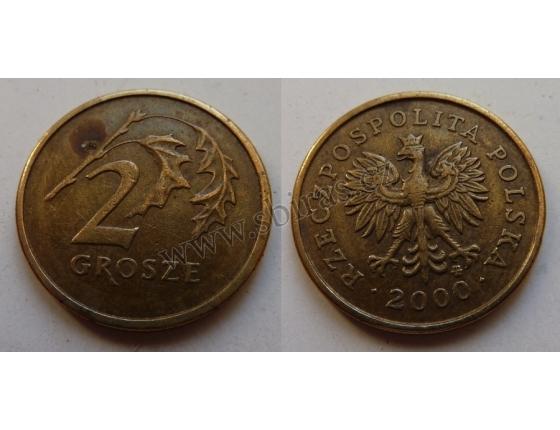 Polsko - mince 2 groše 2000